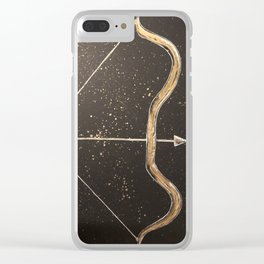 Let Your Arrow Fly Clear iPhone Case