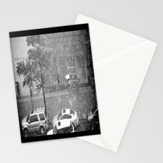 Rainy NYC Sidewalk Stationery Cards