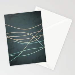 Abstract Lines 1 Stationery Cards
