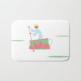 Tea Lilly Cup Bath Mat