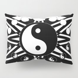 Yin Yang Orbit Pillow Sham