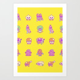 Hearty For You Art Print