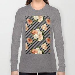 Chrysanthemum Rain Long Sleeve T-shirt