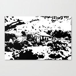 Mountain House Canvas Print