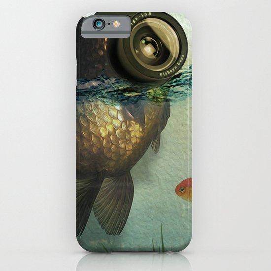 Fish eye lens iPhone & iPod Case