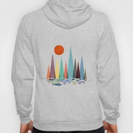 Mountains over the sea Hoody