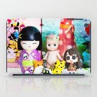 kawaii iPad Cases featuring kawaii by Pissova