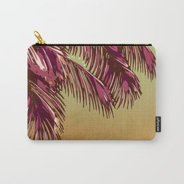 """Fronds & Gradients"" Carry-All Pouch"
