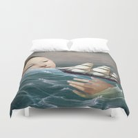 voyage Duvet Covers featuring Voyage by Christian Schloe