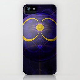 Discordian Fractal - Sigil of Dread Cthulhu iPhone Case