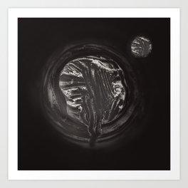 Curd tree and moon Art Print