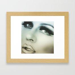 Inbetween a Memory and a Dream Framed Art Print