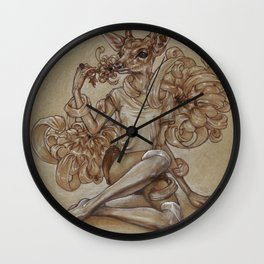 Under a Spell Wall Clock