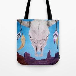 Southwest Skull Tote Bag