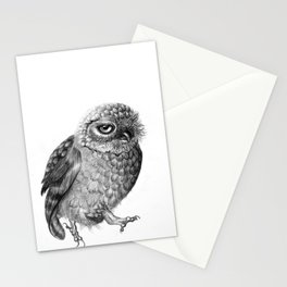 Running Owl Stationery Cards