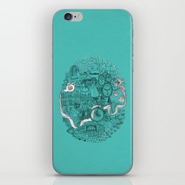 Victorian London iPhone Skin