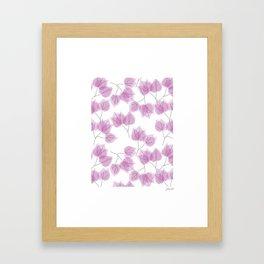 BOUGAINVILLEA Framed Art Print
