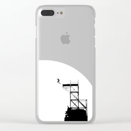 BTS save me, butterfly Clear iPhone Case