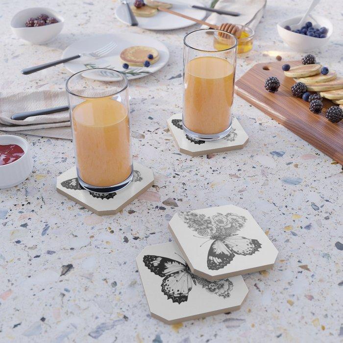 Butterfly in Bloom Coaster