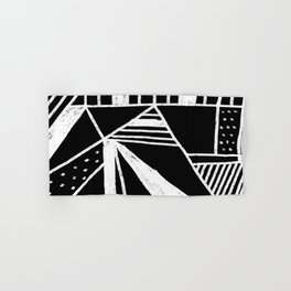 Chalkboard Mayhem Hand & Bath Towel