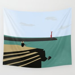 Island Fishing Wall Tapestry