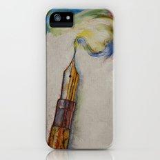 Fountain Pen iPhone (5, 5s) Slim Case