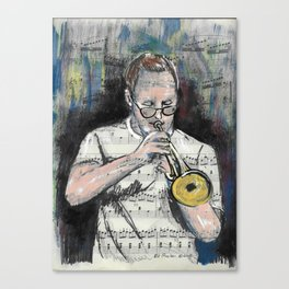 Jazz Trumpet 1 Canvas Print
