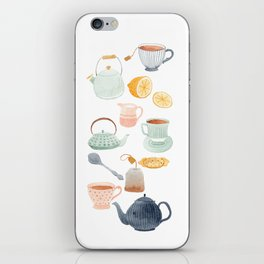 Tea iPhone Skin