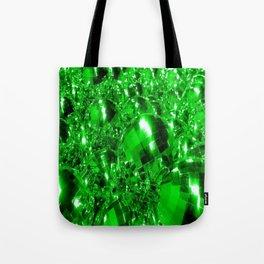 Green Ornaments Tote Bag