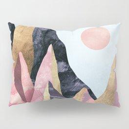 Mauve Peaks Pillow Sham