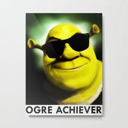 Shrek: Ogre Achiever Metal Print