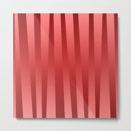 Red gradient Metal Print