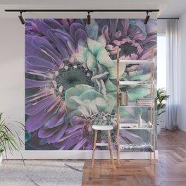 unique floral purple Wall Mural