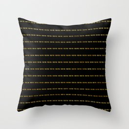 F@#K YOU Pinstripe II Throw Pillow