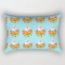 Painted with Frosting Rectangular Pillow