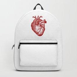 Vintage Heart Anatomy Backpack