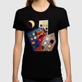 Eine Kleine Nachtmusik Red Cat T-shirt