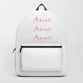 Amor Amor Amor Backpack