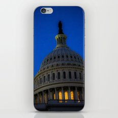 Evening behind the dome iPhone & iPod Skin