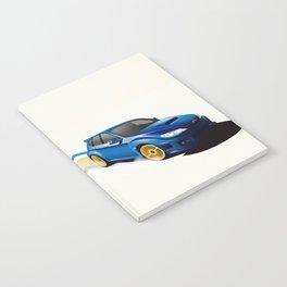Blue Wonder Notebook