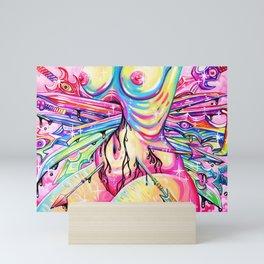 Agony Mini Art Print