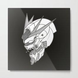 Gundam x Eva Metal Print
