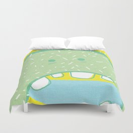 Hungry. Duvet Cover
