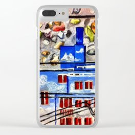 Granville Street, Vancouver Clear iPhone Case