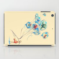 alice iPad Cases featuring Water Balloons by Alice X. Zhang