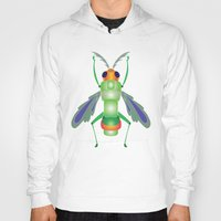 bug Hoodies featuring Bug by MinaSparklina