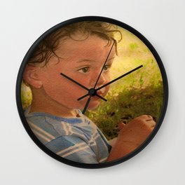 Have Baby Wipes, Will Travel Wall Clock