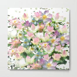 Lotus bloom Metal Print