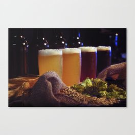 Beer Tasting 101 home brew Canvas Print