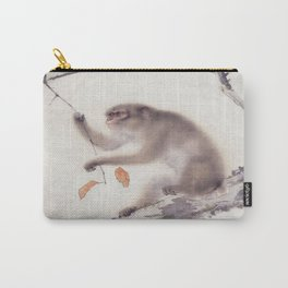 Monkey Vector After Hashimoto Kansetsu Carry-All Pouch